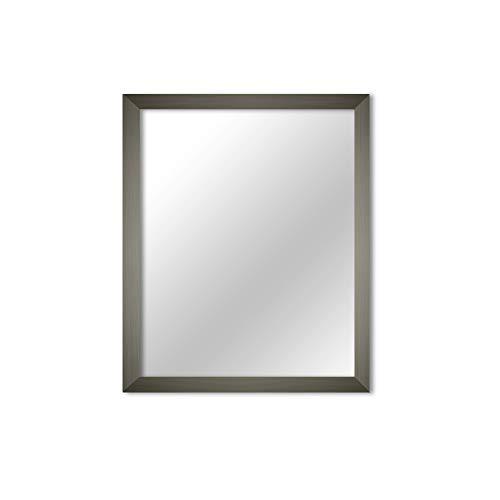 MI-100 Gray Framed Mirror 11x14