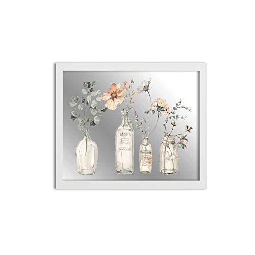MI-107 White Framed Mirror 11x14